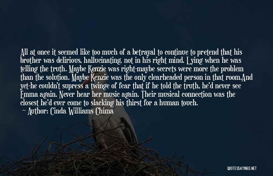 No Slacking Quotes By Cinda Williams Chima