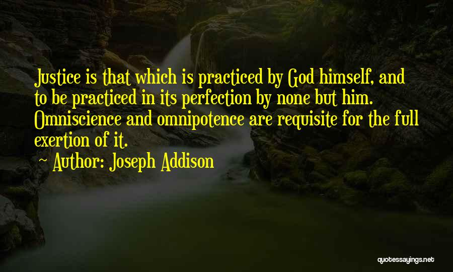 No Such Thing As Perfection Quotes By Joseph Addison