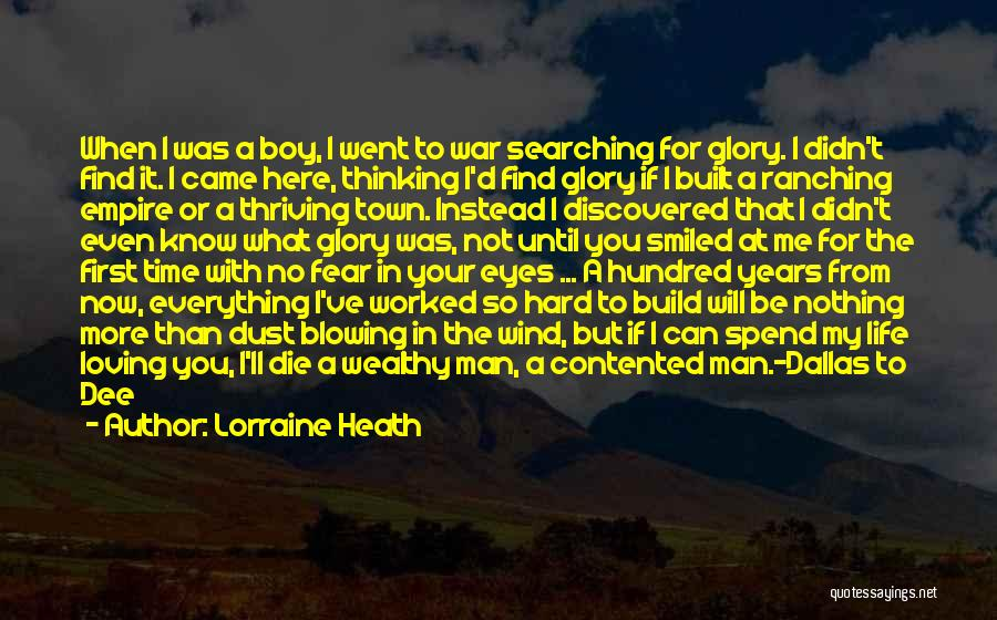 No Time For Me Love Quotes By Lorraine Heath