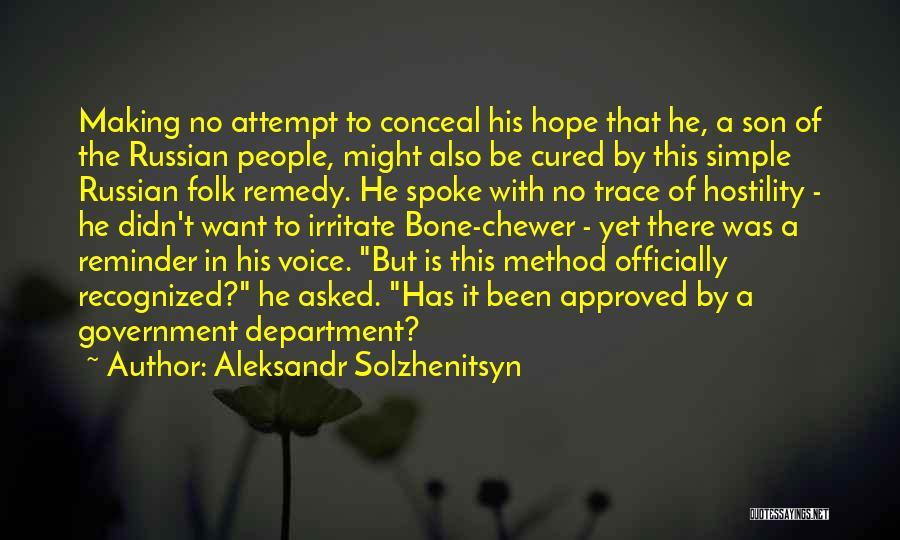 No Trace Quotes By Aleksandr Solzhenitsyn