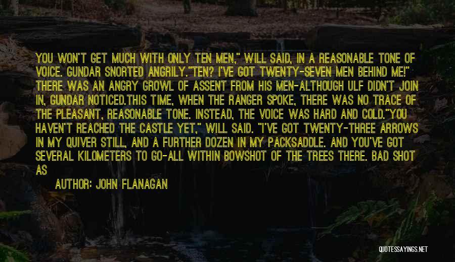 No Trace Quotes By John Flanagan