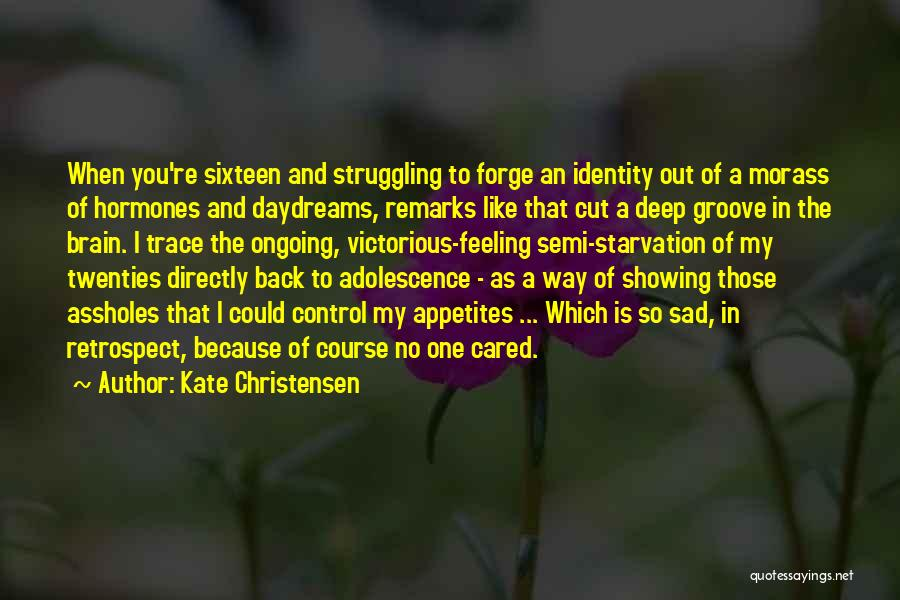 No Trace Quotes By Kate Christensen
