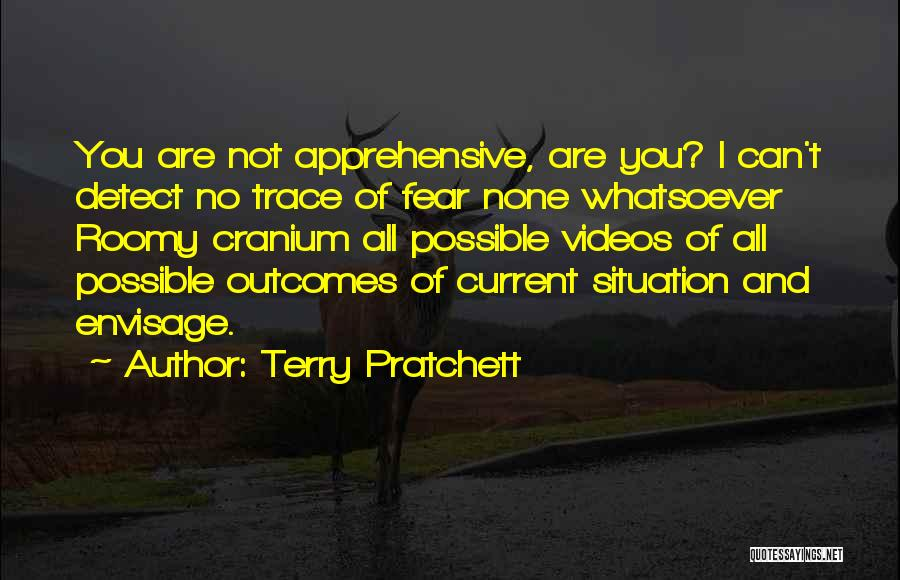 No Trace Quotes By Terry Pratchett