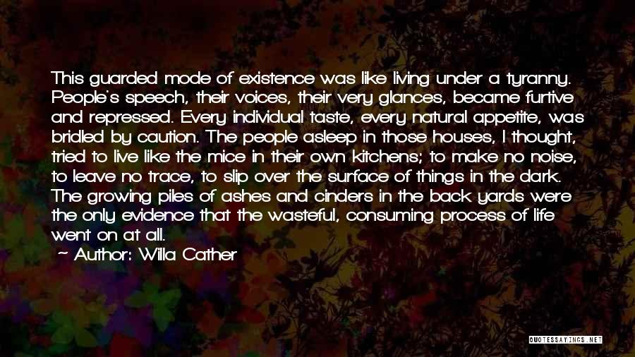 No Trace Quotes By Willa Cather