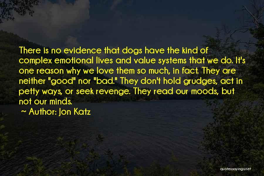 No Value Love Quotes By Jon Katz