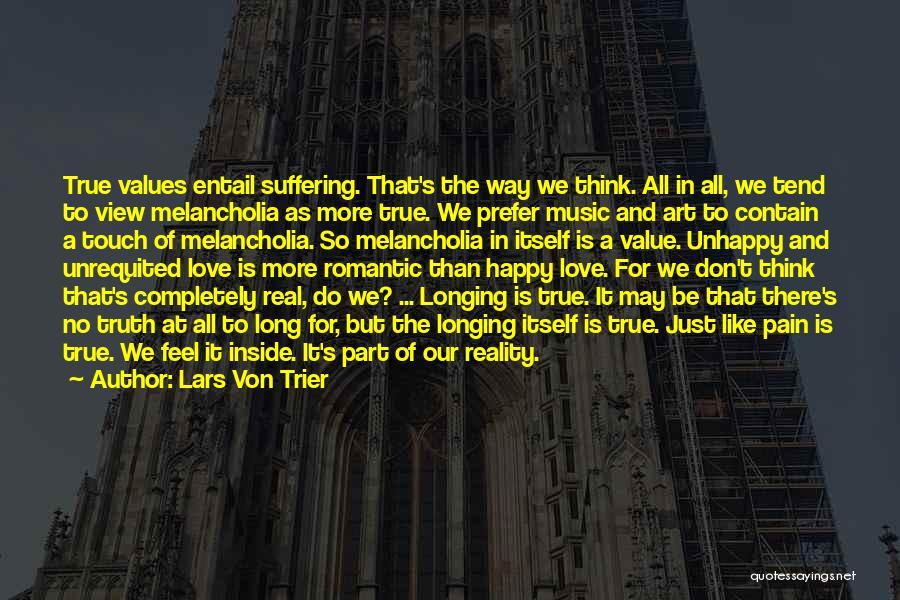 No Value Love Quotes By Lars Von Trier