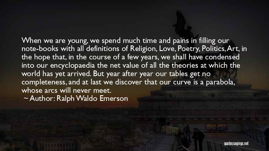 No Value Love Quotes By Ralph Waldo Emerson