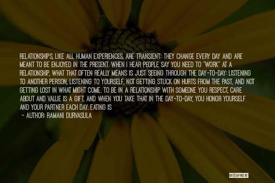 No Value Love Quotes By Ramani Durvasula