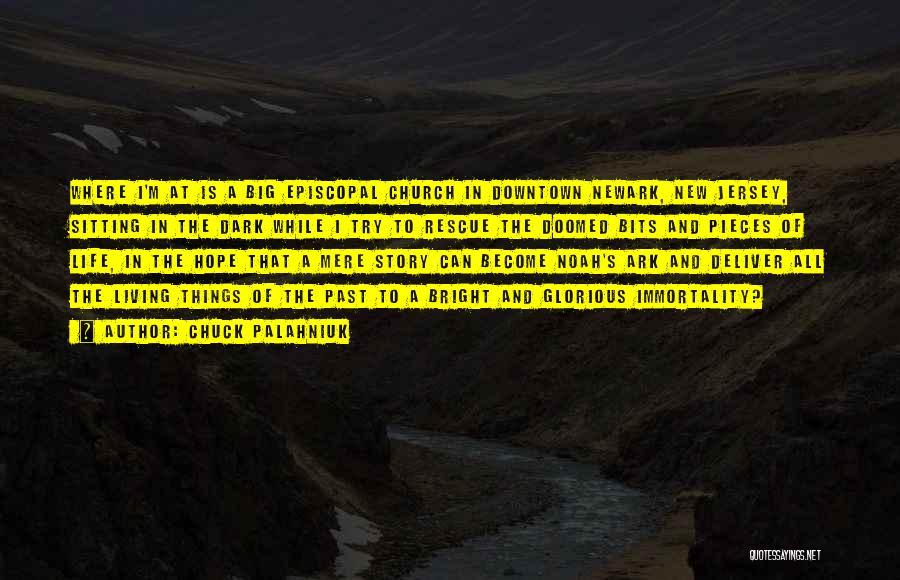 Noah's Ark Quotes By Chuck Palahniuk