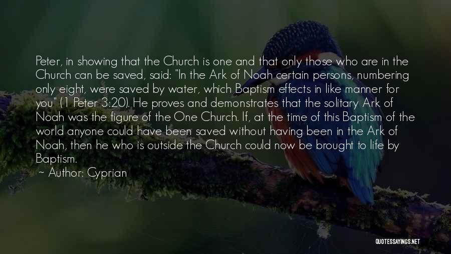 Noah's Ark Quotes By Cyprian