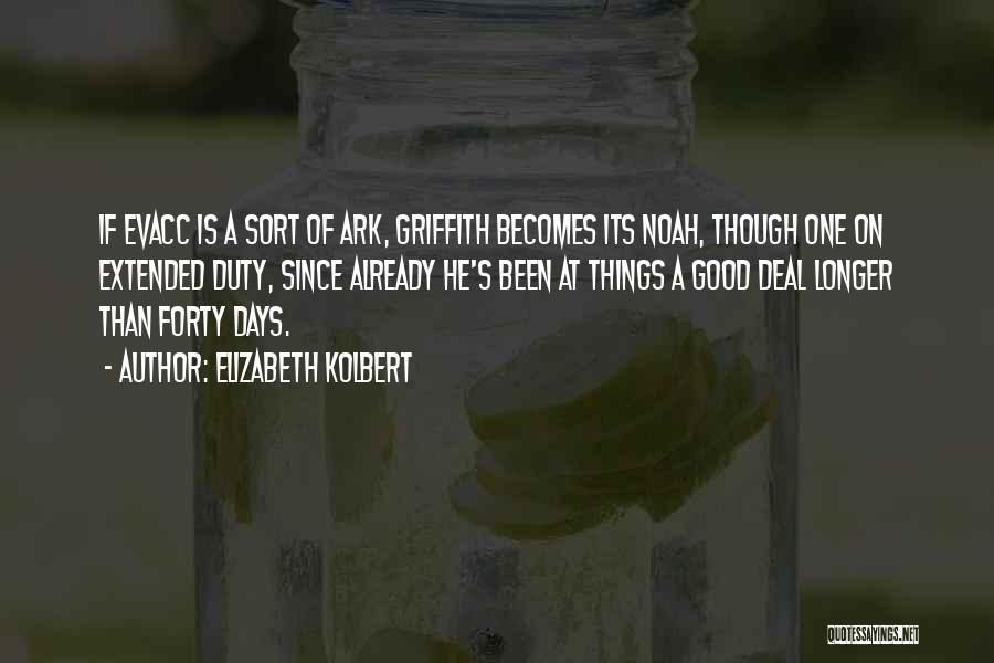 Noah's Ark Quotes By Elizabeth Kolbert