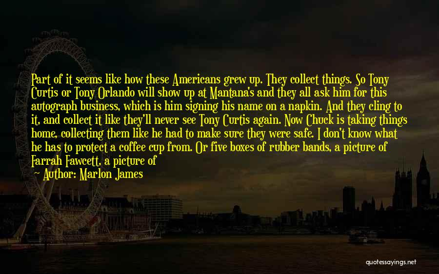 Noah's Ark Quotes By Marlon James
