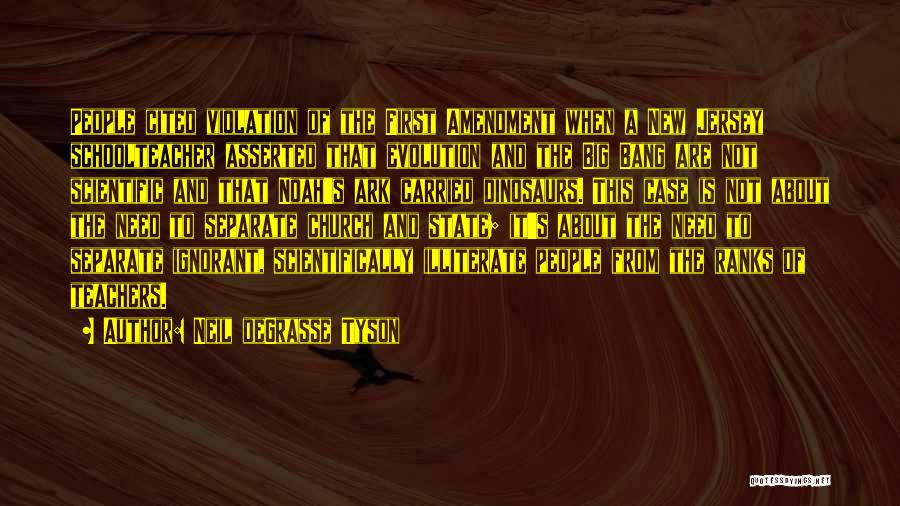 Noah's Ark Quotes By Neil DeGrasse Tyson