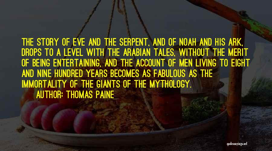 Noah's Ark Quotes By Thomas Paine