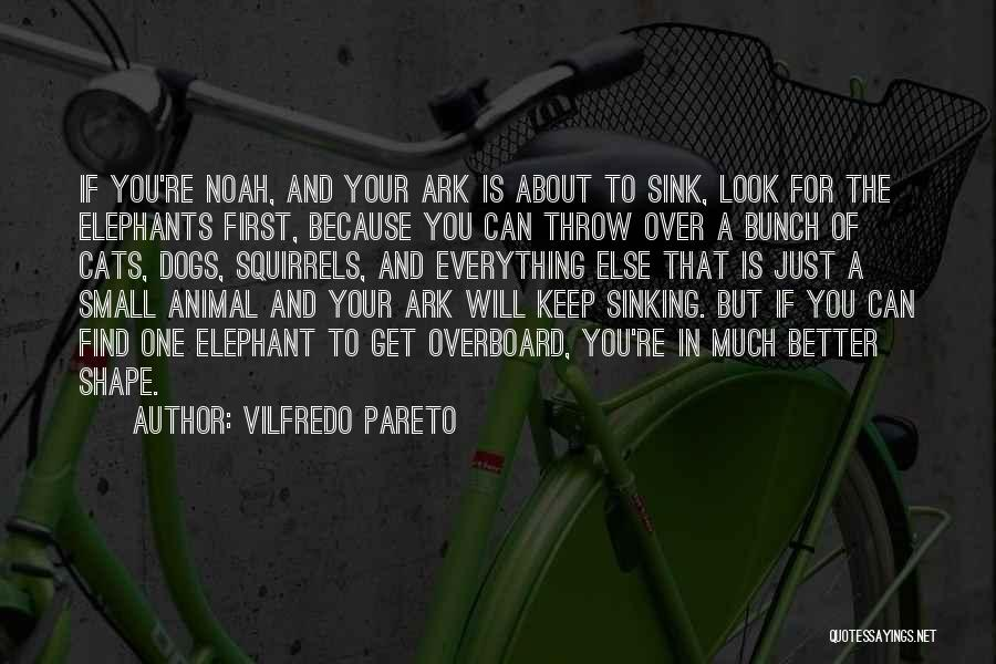 Noah's Ark Quotes By Vilfredo Pareto