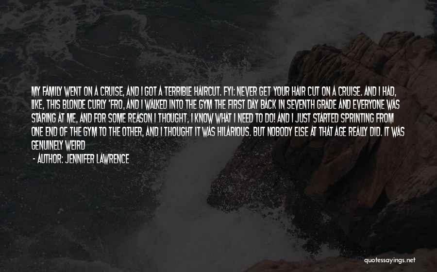 Nobody Got Me Like I Got Me Quotes By Jennifer Lawrence
