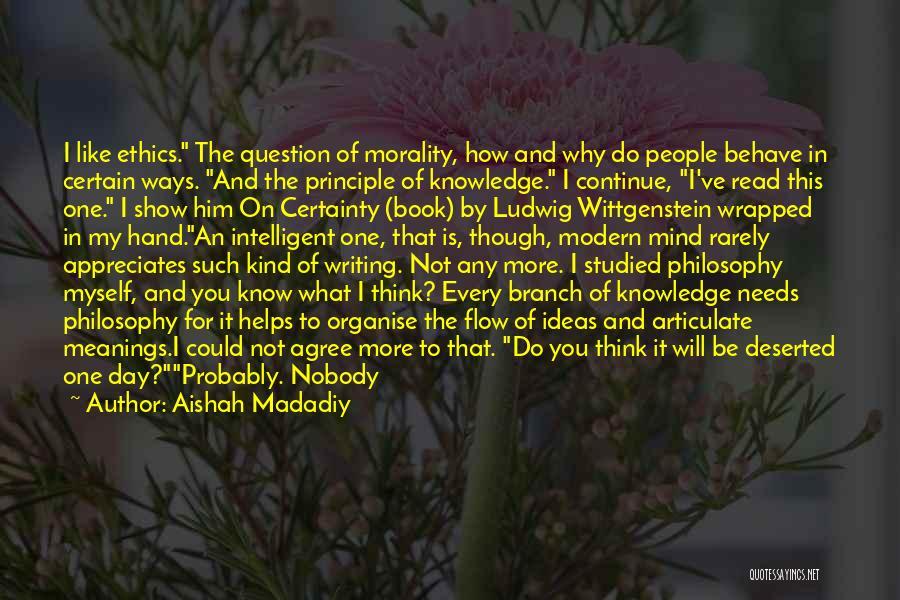 Nobody Helps Quotes By Aishah Madadiy