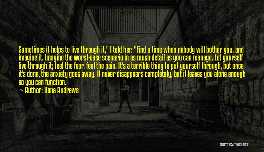 Nobody Helps Quotes By Ilona Andrews