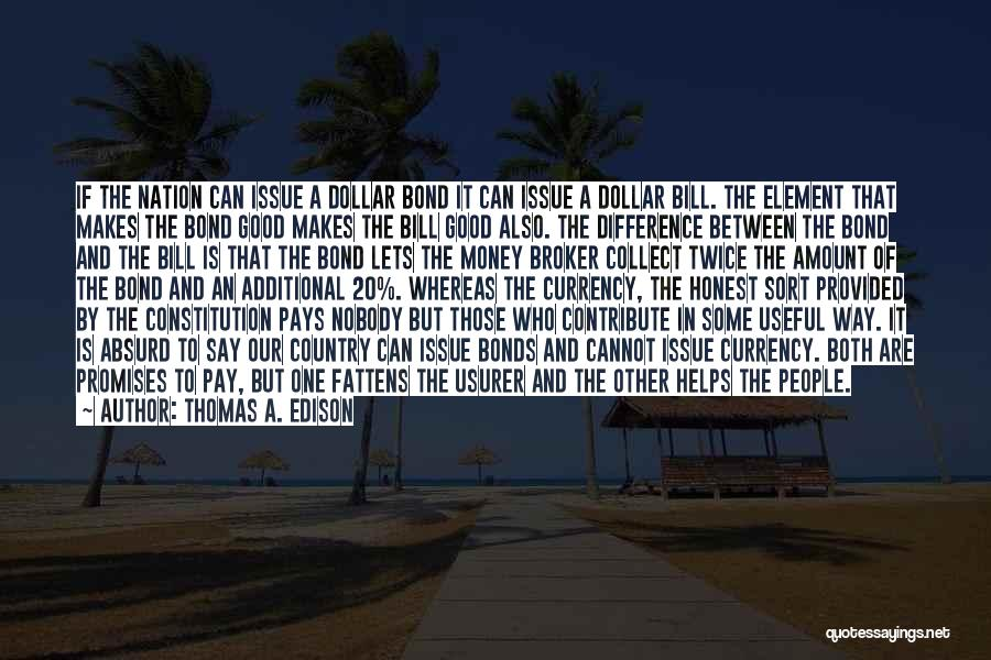 Nobody Helps Quotes By Thomas A. Edison