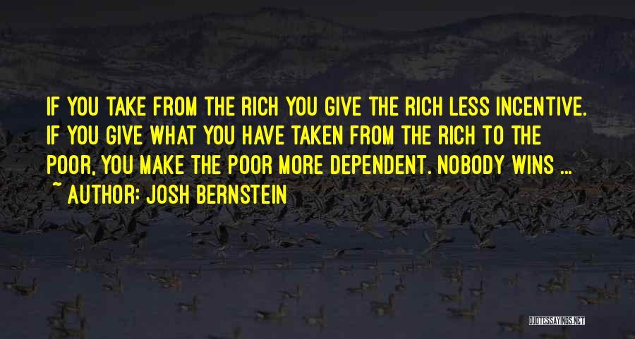 Nobody Wins Quotes By Josh Bernstein