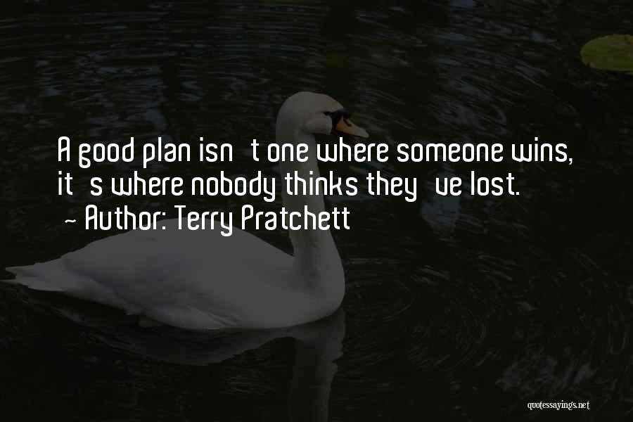 Nobody Wins Quotes By Terry Pratchett