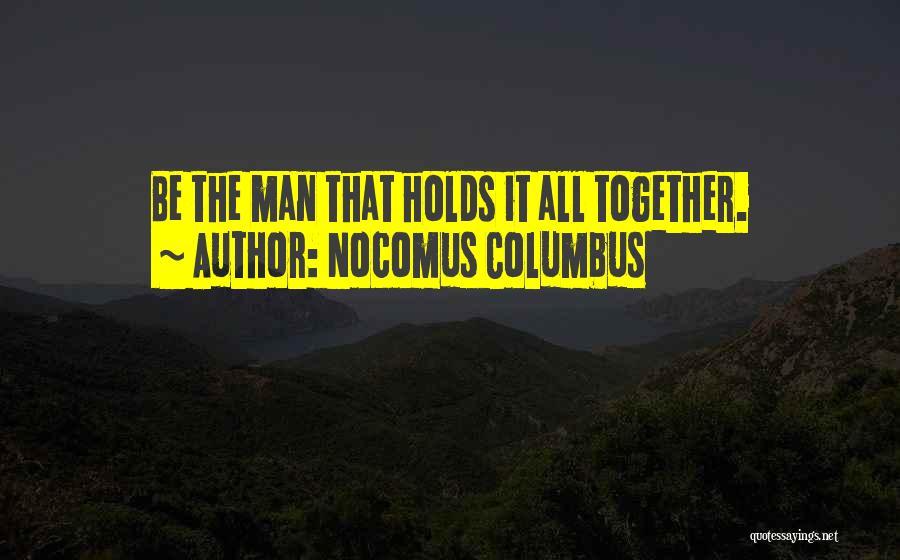 Nocomus Columbus Quotes 2037747