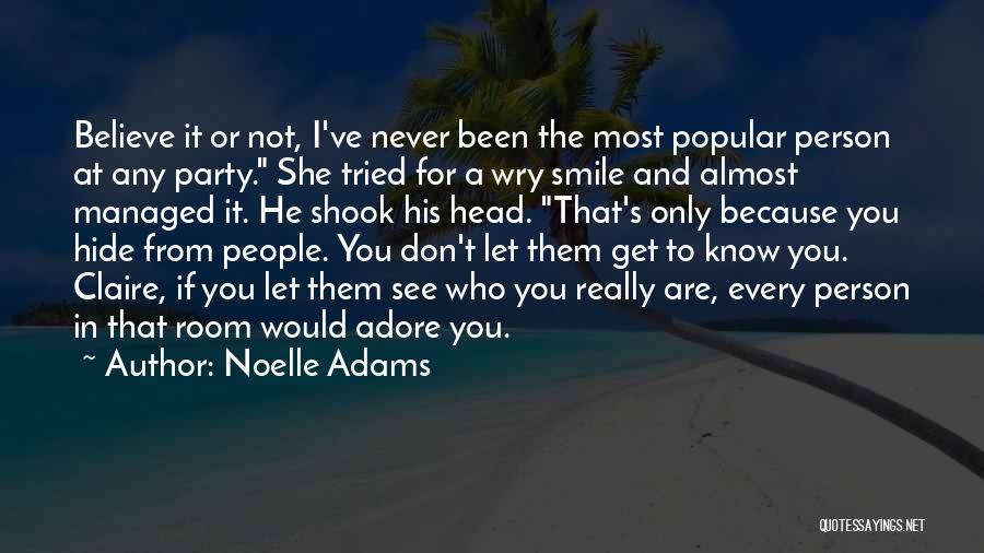 Noelle Adams Quotes 105400
