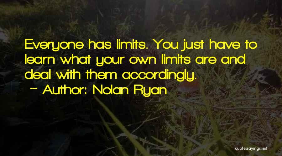Nolan Ryan Quotes 162110