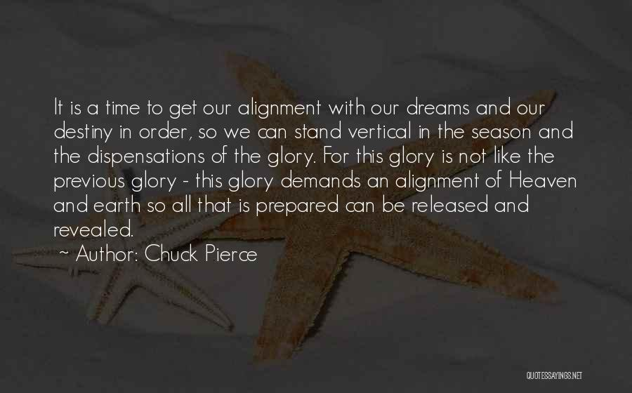 Non Alignment Quotes By Chuck Pierce