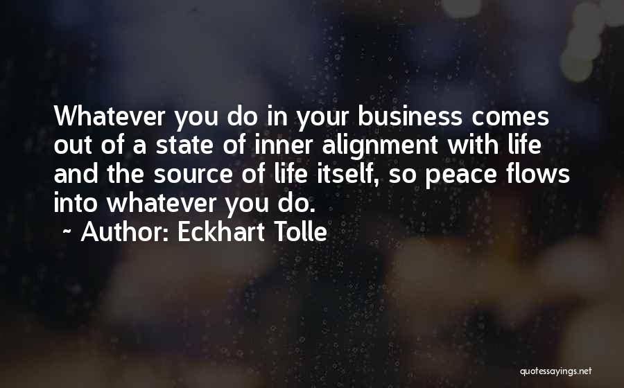 Non Alignment Quotes By Eckhart Tolle