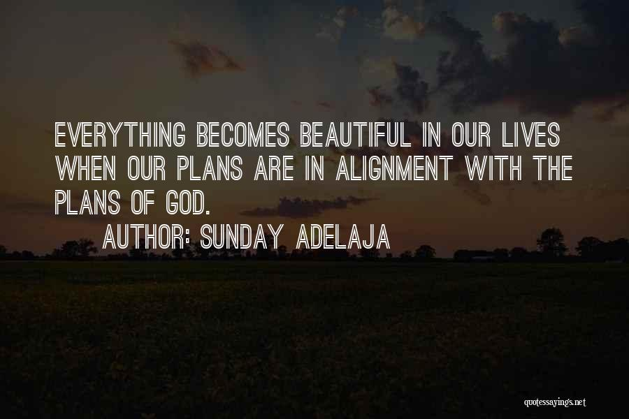 Non Alignment Quotes By Sunday Adelaja