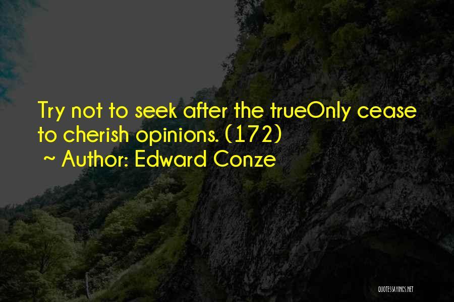 Non Attachment Quotes By Edward Conze