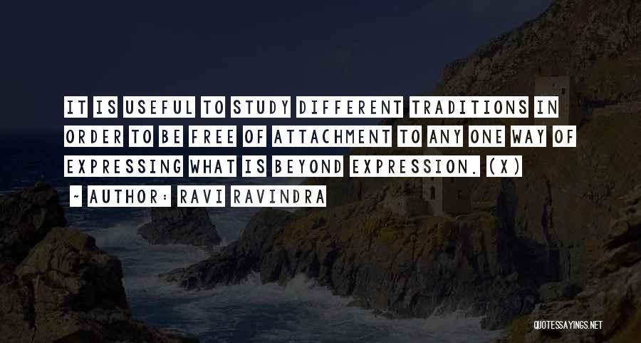 Non Attachment Quotes By Ravi Ravindra