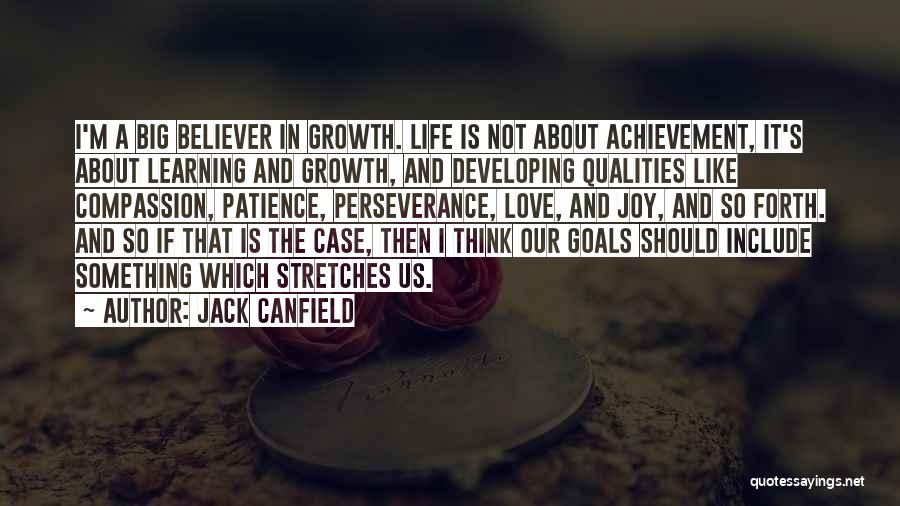 Non Believer Love Quotes By Jack Canfield