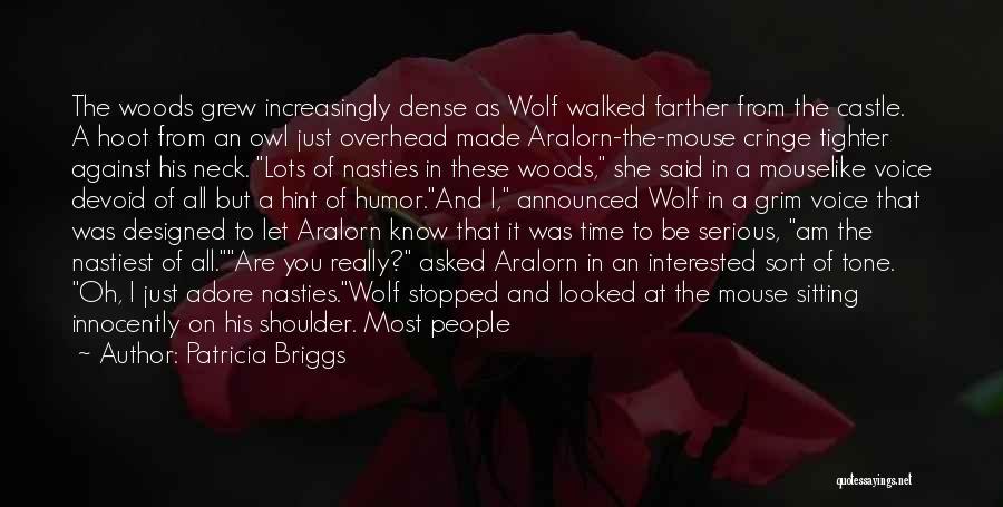 Non Cringe Love Quotes By Patricia Briggs