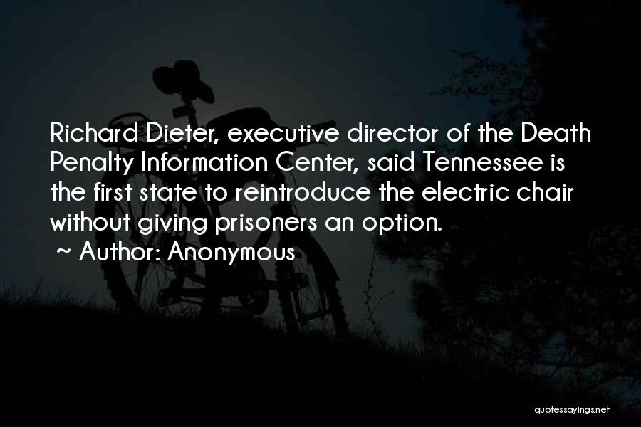 Non Executive Director Quotes By Anonymous
