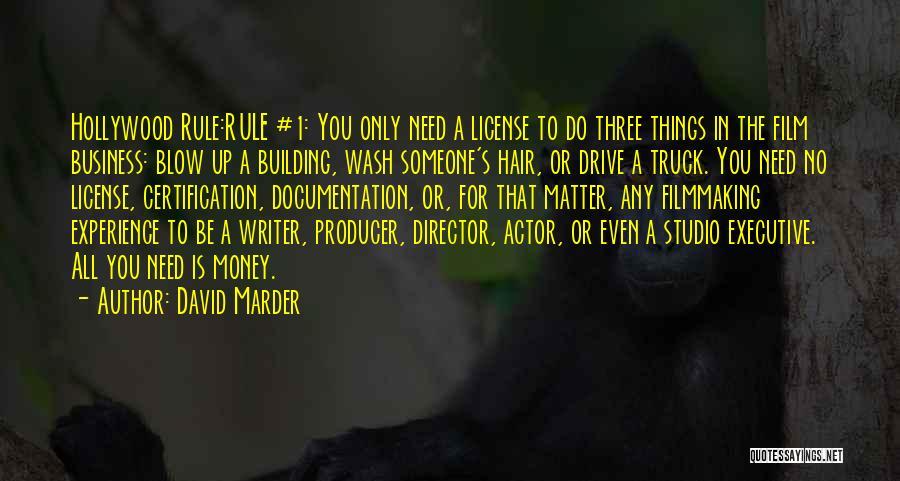 Non Executive Director Quotes By David Marder