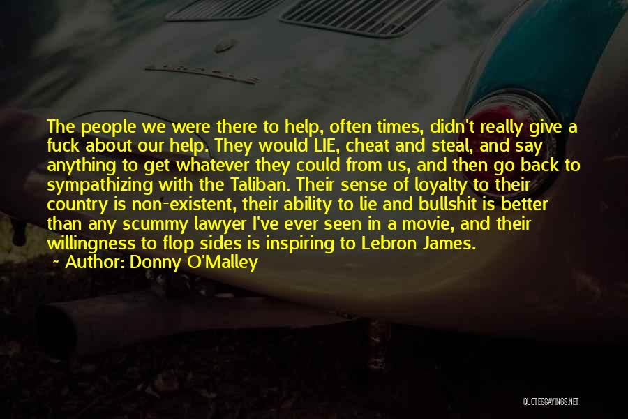 Non Existent Quotes By Donny O'Malley
