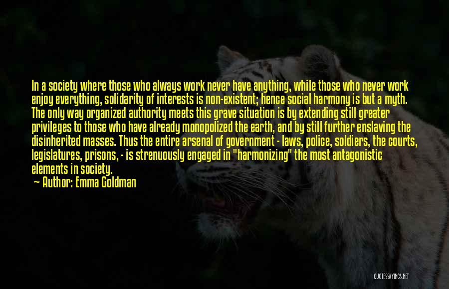 Non Existent Quotes By Emma Goldman