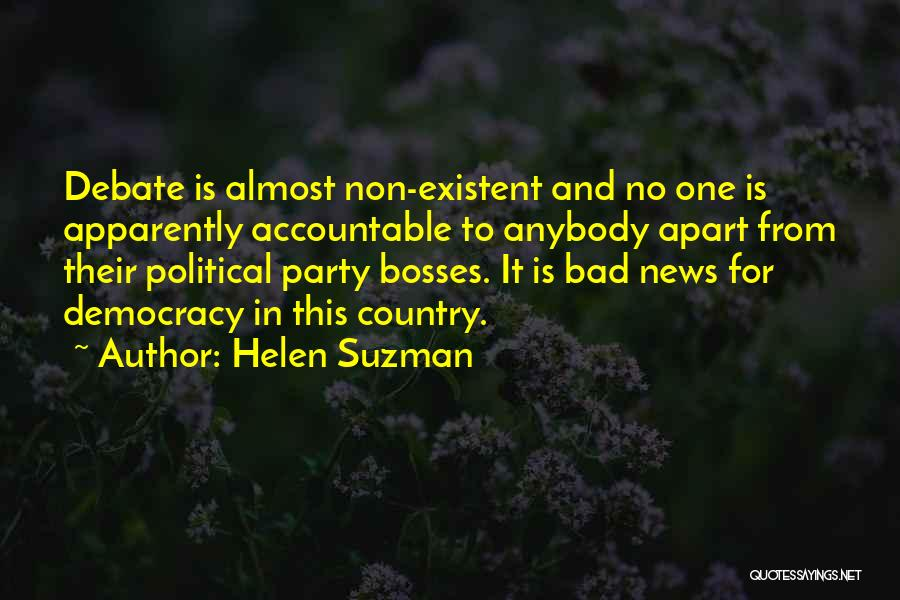 Non Existent Quotes By Helen Suzman
