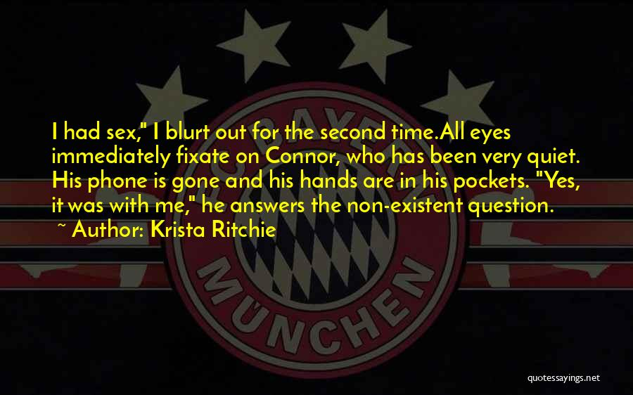 Non Existent Quotes By Krista Ritchie