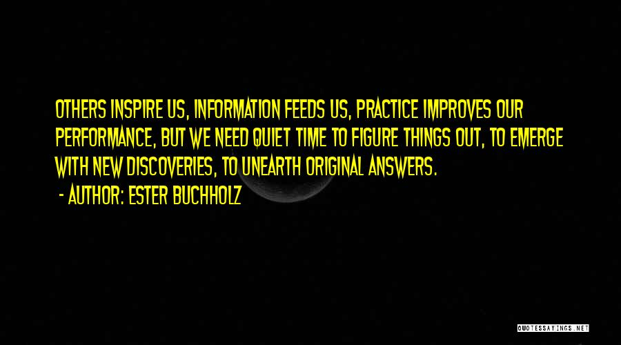 Non Performance Quotes By Ester Buchholz