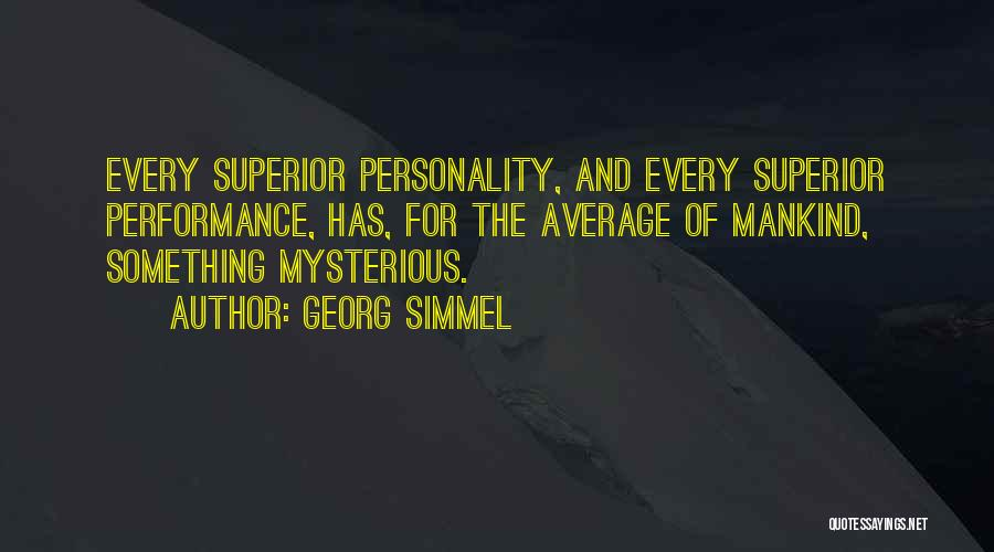 Non Performance Quotes By Georg Simmel