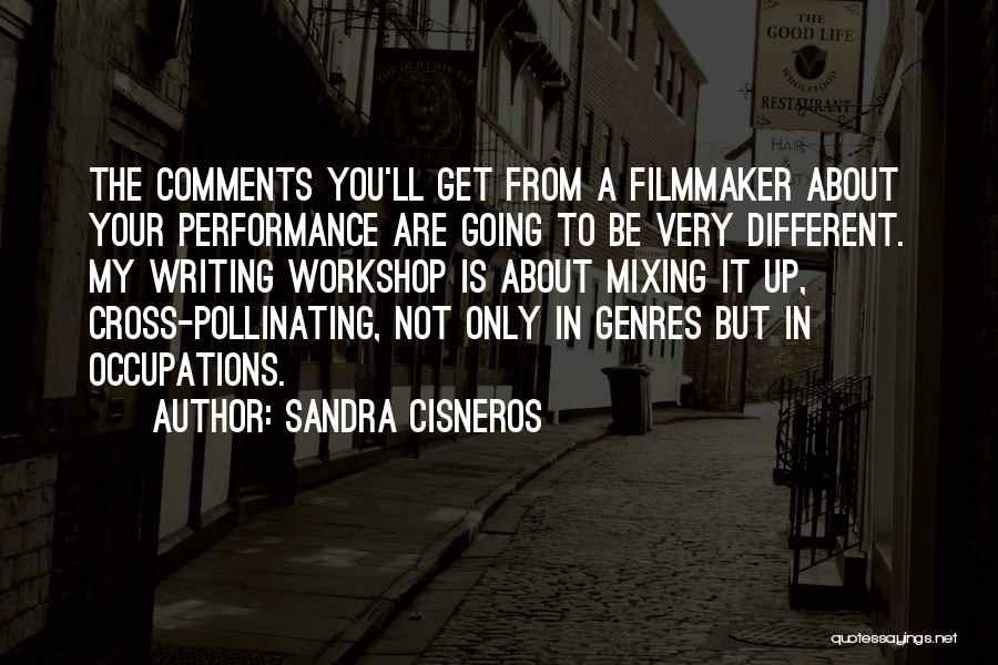 Non Performance Quotes By Sandra Cisneros