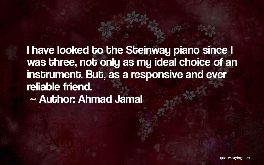 Non Responsive Quotes By Ahmad Jamal