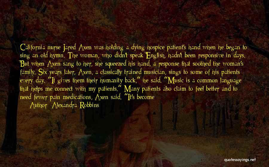 Non Responsive Quotes By Alexandra Robbins