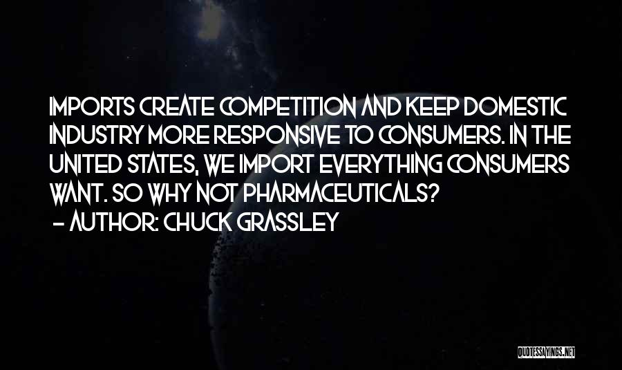 Non Responsive Quotes By Chuck Grassley