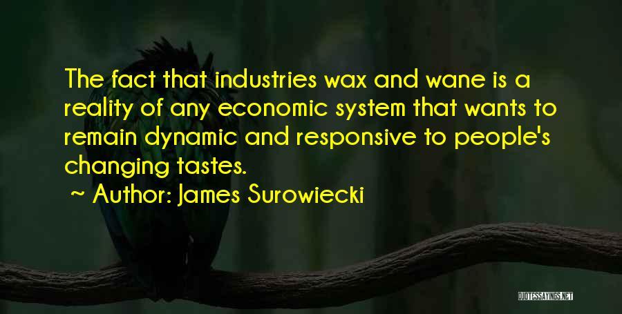 Non Responsive Quotes By James Surowiecki