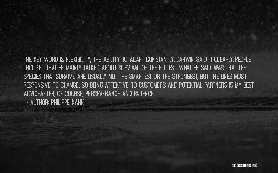 Non Responsive Quotes By Philippe Kahn