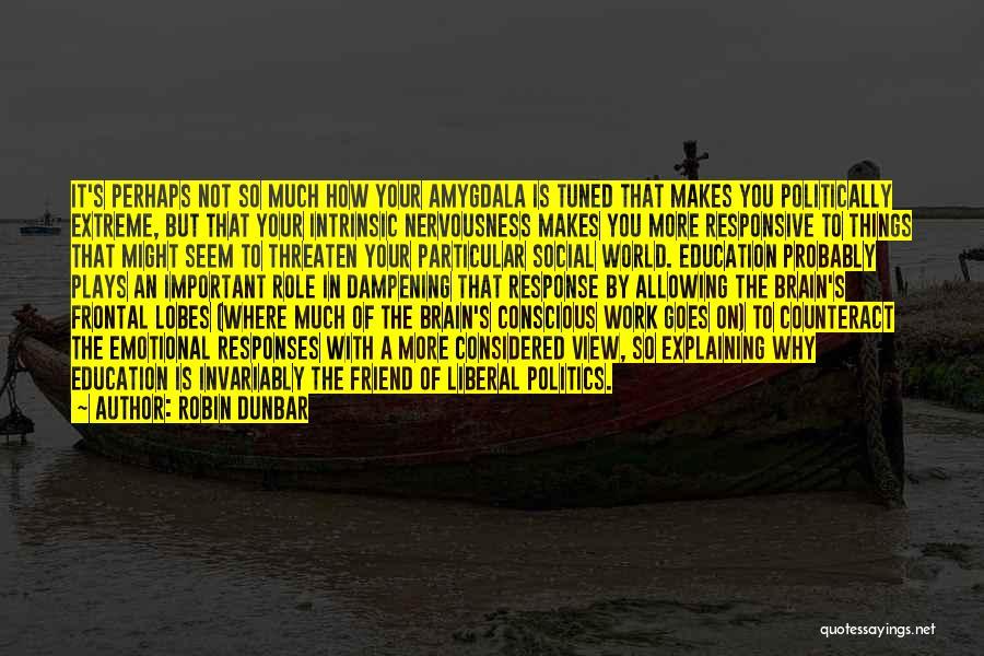 Non Responsive Quotes By Robin Dunbar